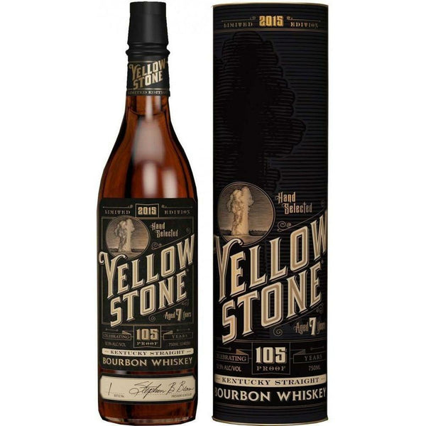 2015 Limited Edition Yellow Stone Kentuck Straight Bourbon Whiskey