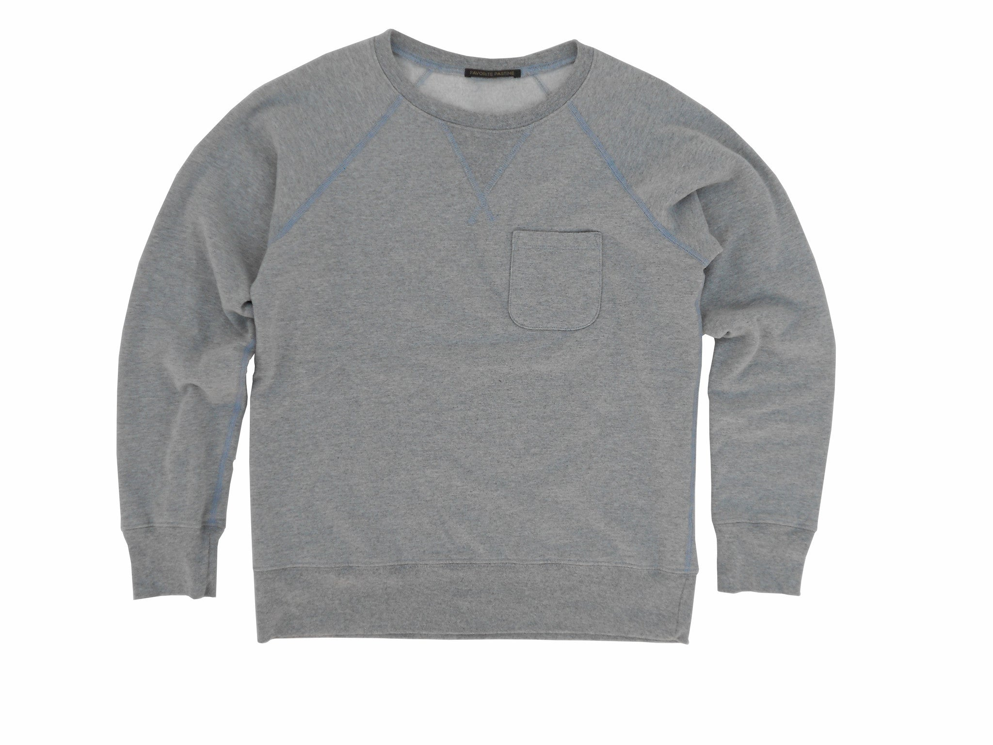 FAVORITE PASTIME BONFIRE BEACH REGLAN Sweatshirt