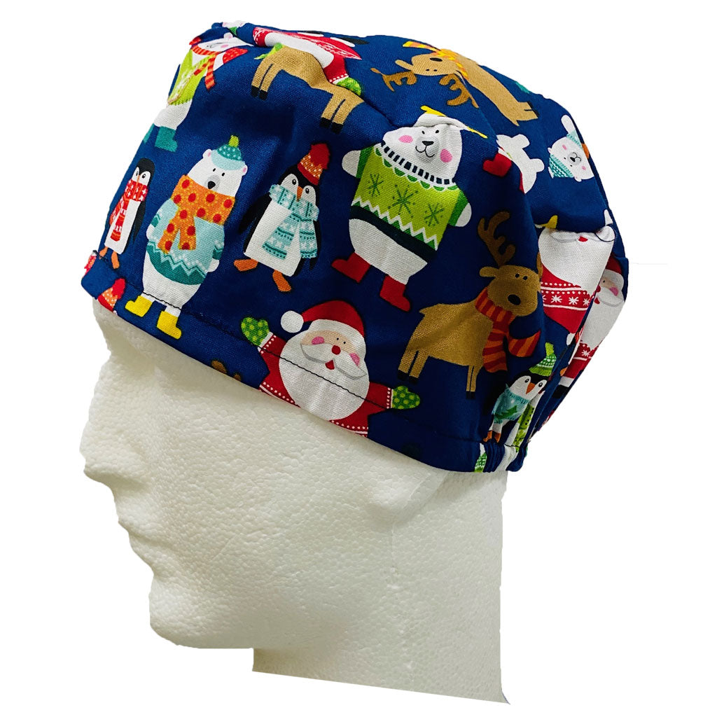 Christmas  Scrub Hats