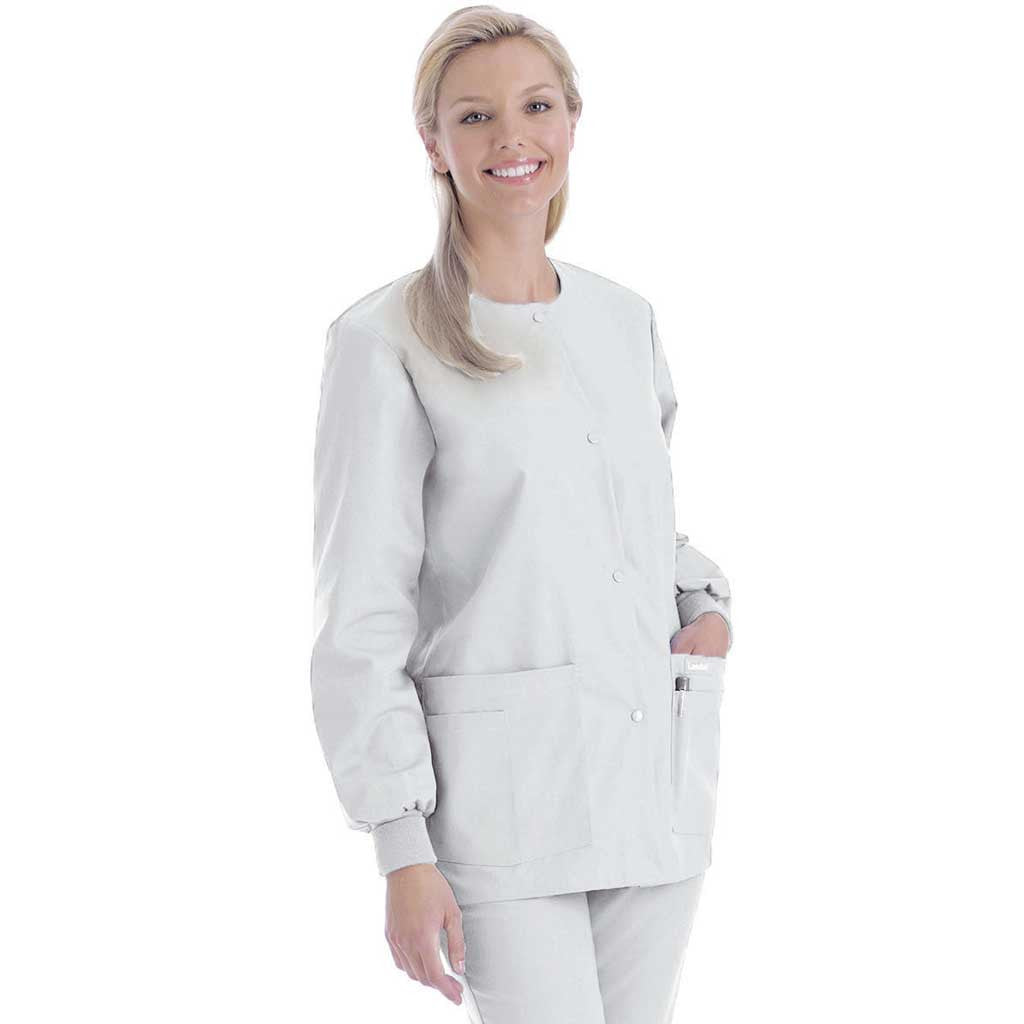 Landau Round Neck Warm-up Jacket - 7525 (seasonal colours ...