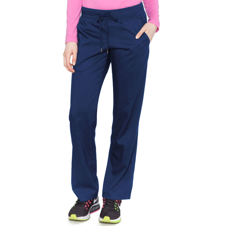 Medcouture Women's Performance  Cargo Scrub Pant Navy - 7789