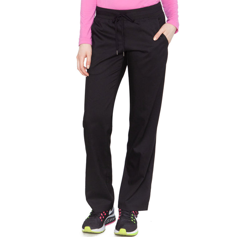Medcouture Women's Performance  Cargo Scrub Pant Black - 7789