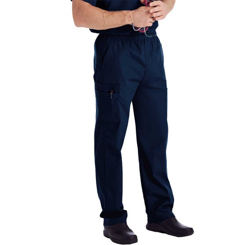 Landau Men's 5-Pocket Scrub Top - 7489