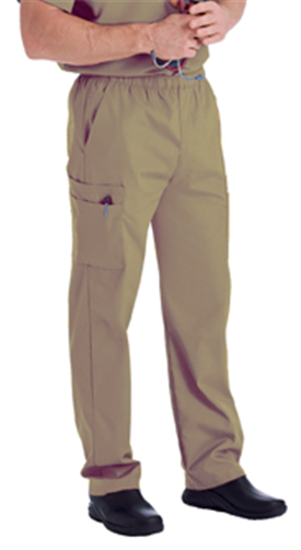 Landau Men's Cargo Pant Cappuccino - 8555 (XLarge sizes only)