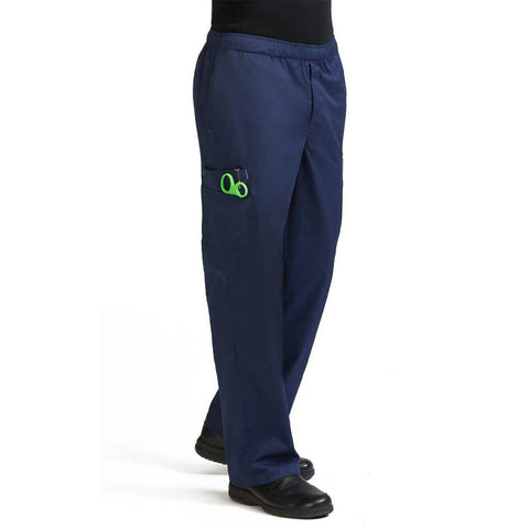 8702 Men's Stretch Cargo Pant navy