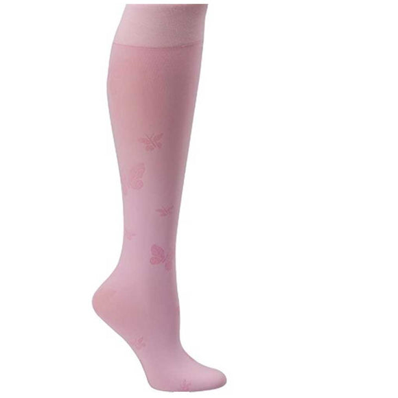 Compression Sock Butterfly pattern