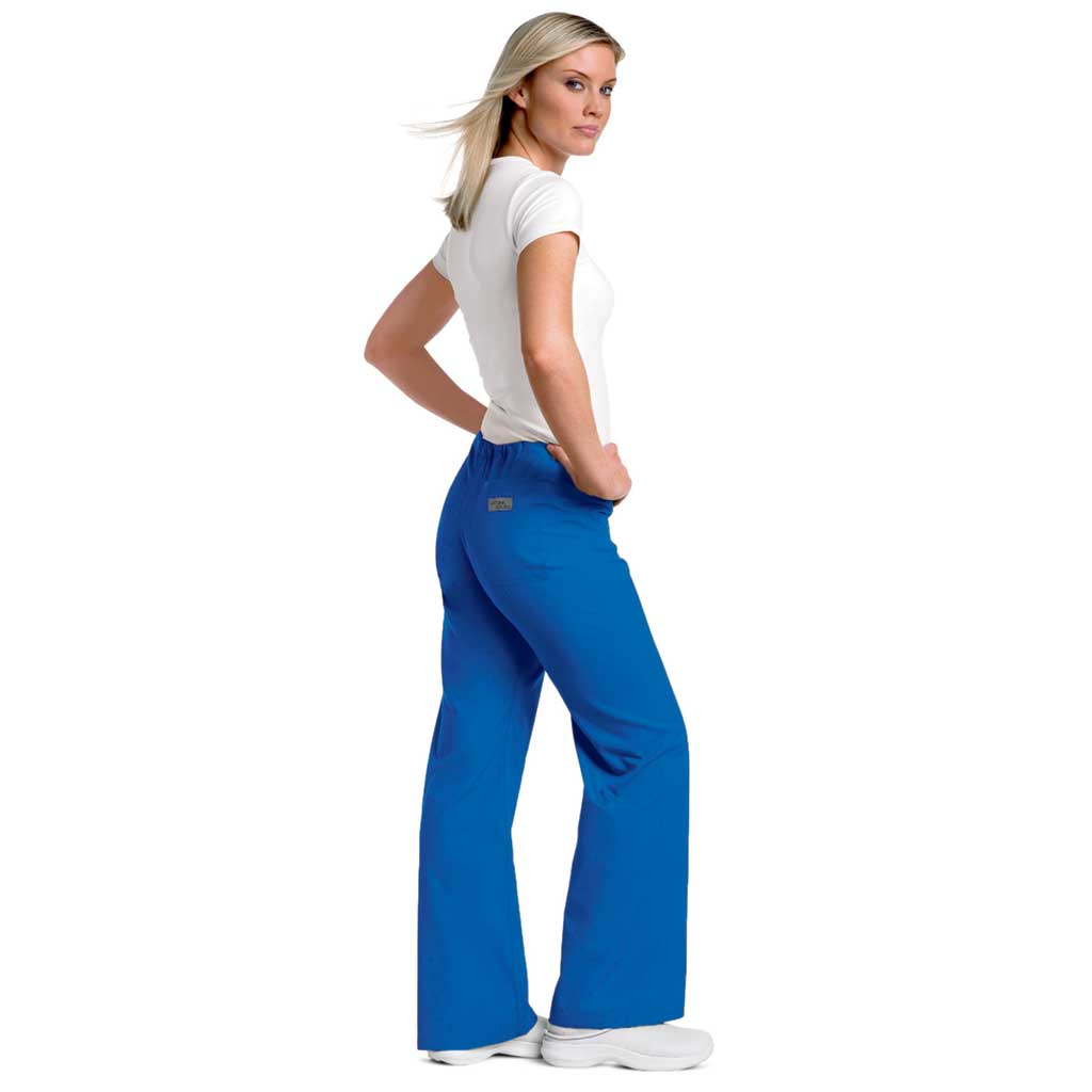 Urbane Drawstring Scrub Pants - Royal Blue 9502
