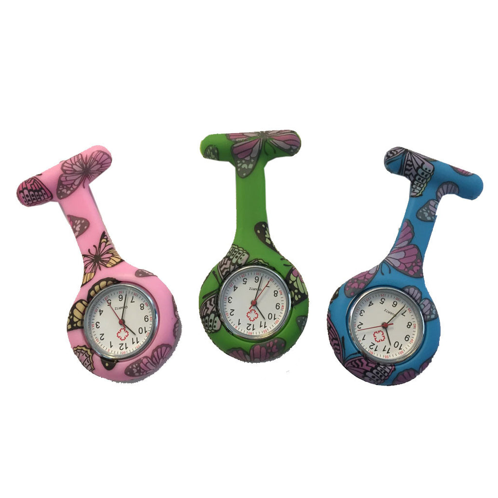 Butterfly Nurse Fob Watches