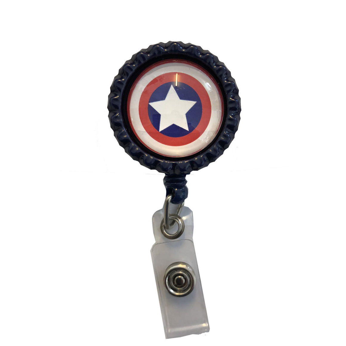 Captain America ID Badge Holder
