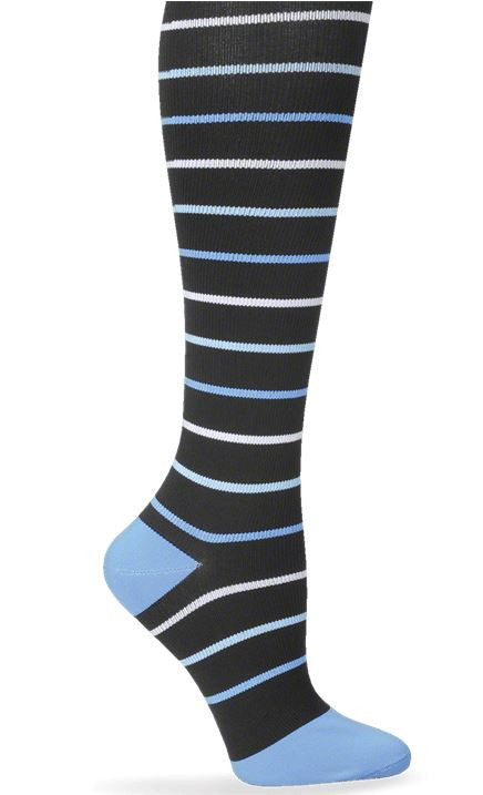 Compression Sock Blue Stripes