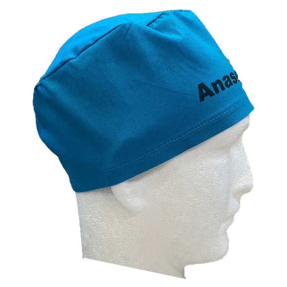 """The Identifier"" TIE Scrub Hat -Patterned Fabrics"