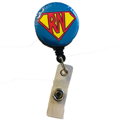 Super RN ID Badge Holder