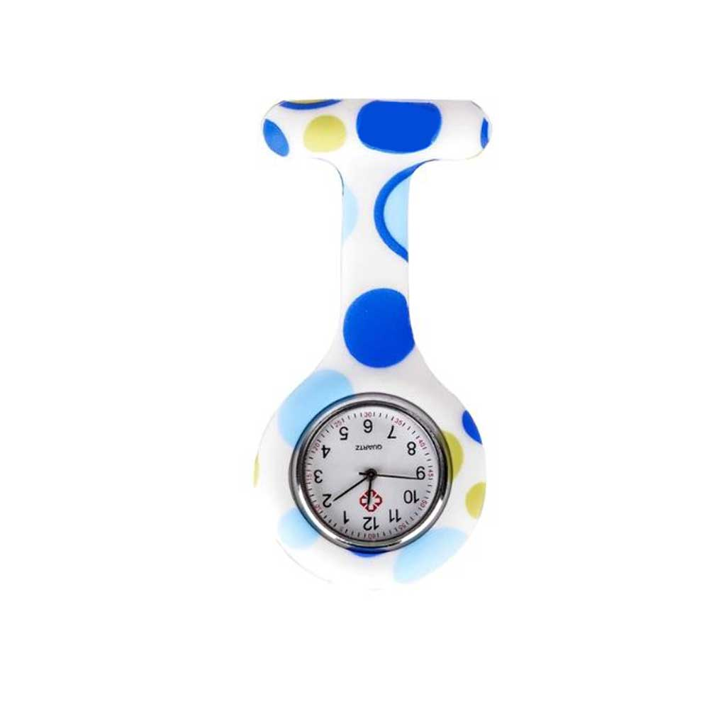 Blue Circles Nurse Fob Watch