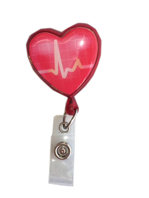 Heart ID Badge Holder