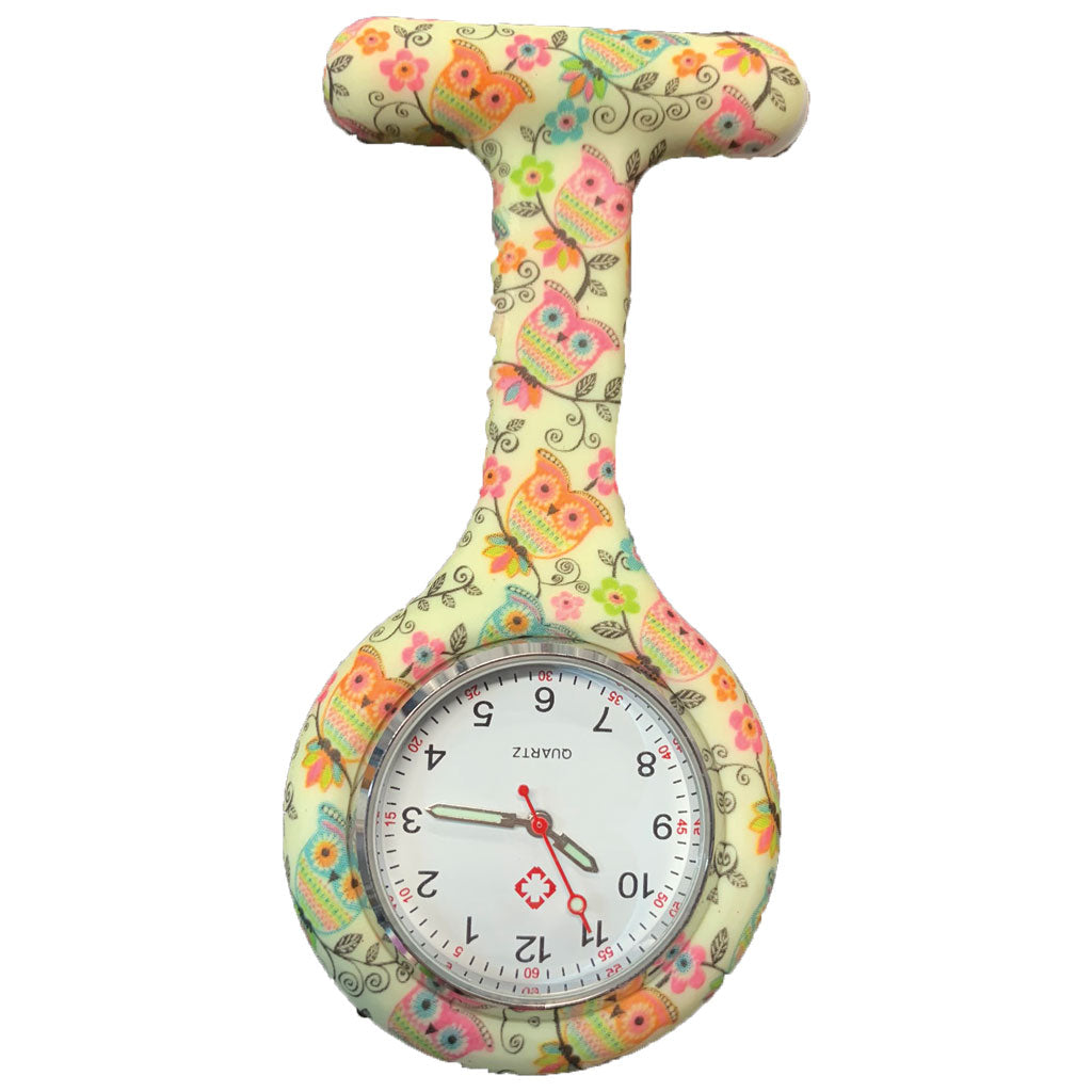 Mini Owls Nurse Fob Watch