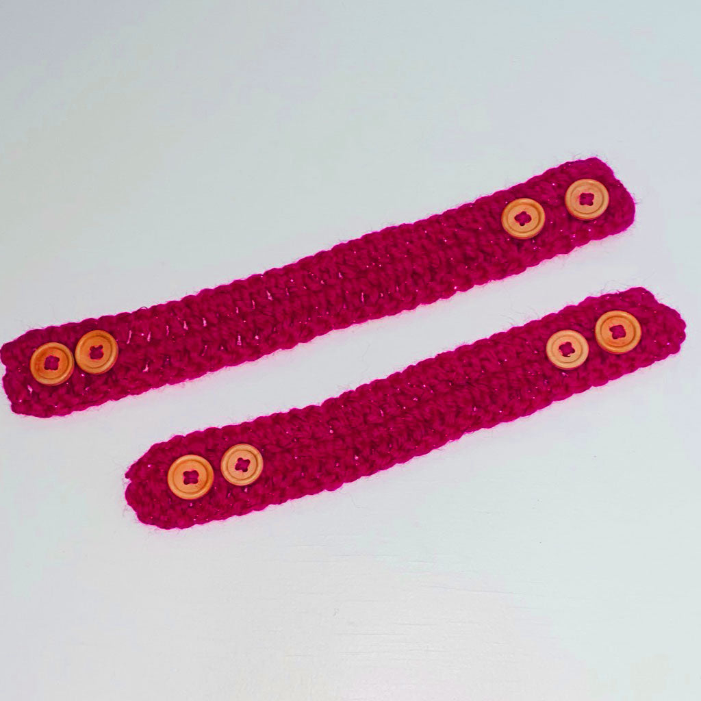 Face Mask Ear Saver Crocheted Strap