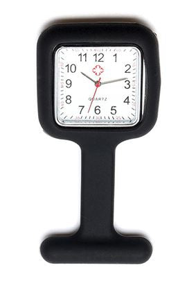 Square Nurse Fob Watch- Various Colours