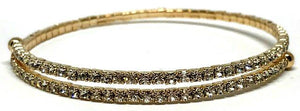 Gold Crystal Wrap Bracelet (BG5000) Fashion Bracelet athenadesigns
