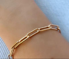 Load image into Gallery viewer, Link Bracelet: Gold Vermeil (BCG481) Bracelet athenadesigns