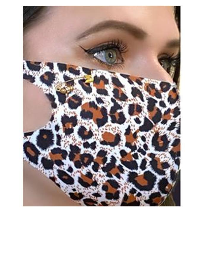 Safe-T Pouch Set With Cheetah Mask (PSCH) Mask athenadesigns