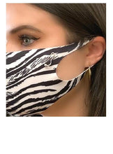 Load image into Gallery viewer, Safe-T Pouch Set With Zebra Mask (PSZB) Mask athenadesigns
