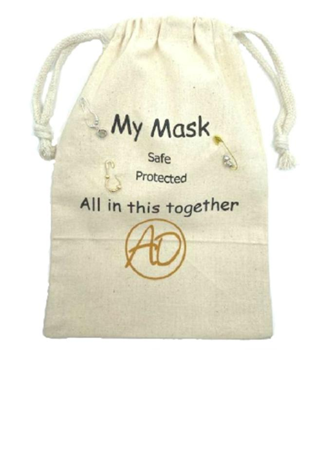 Safe-T Pouch Set With Black Mask (PSX) Mask athenadesigns