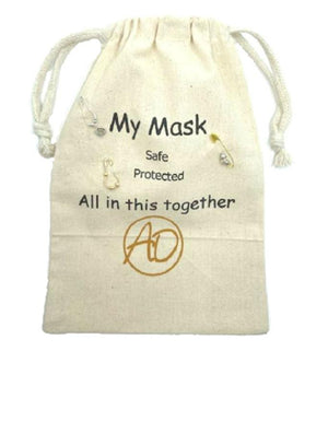 Safe-T Pouch Set With Grey Mask (PSGY) Mask athenadesigns