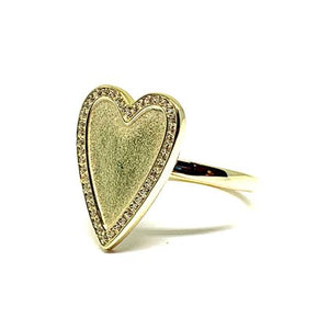 Heart Ring:Gold Fill (RG645) Also in Rose Gold Vermeil Rings athenadesigns