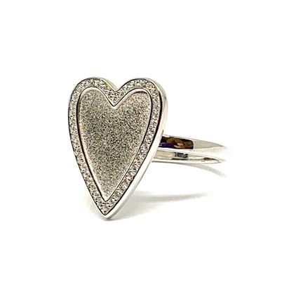 Heart Ring: Sterling (RS645) Rings athenadesigns 6: RS645/6