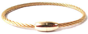 Gold Magnetic Bracelet (BCM408G) Fashion Bracelet athenadesigns Gold