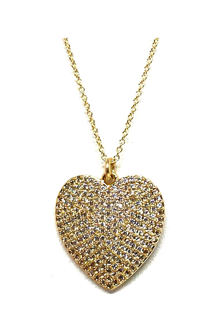 Charm Necklace: Heart: Large: Gold - Also in Rose Gold (PNCG/HRTL) SALE athenadesigns Gold - PNCG/HRTL