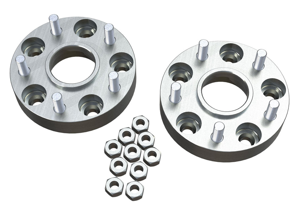 Jeep JK 1.25 Inch Wheel Offset Adapter Kit 5x5 Inch to 5x5 Inch Pair 07-18 Wrangler JK TeraFlex