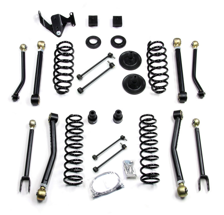 Jeep JK 4 Door 3 Inch Lift Kit W/8 FlexArms Right Hand Drive 07-18 Wrangler JK Unlimited TeraFlex