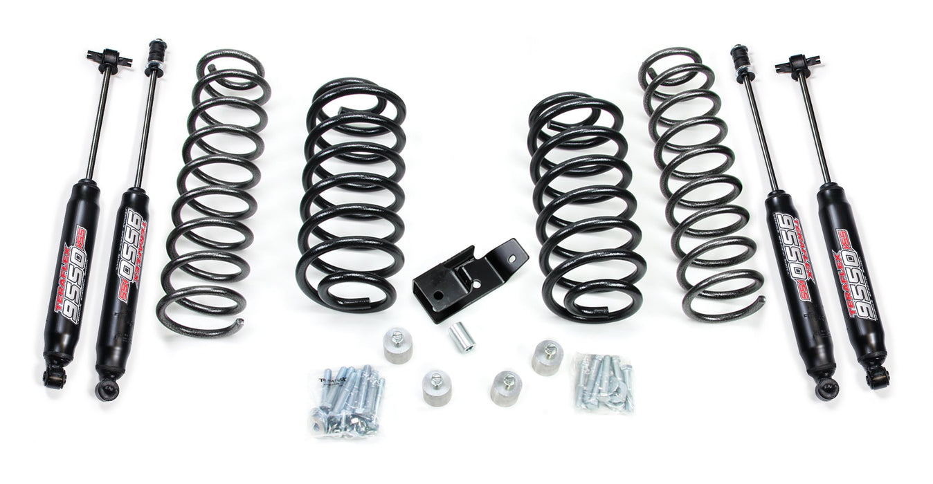 Jeep TJ/LJ 2 Inch Lift Kit w/ 9550 Shocks 97-06 Wrangler TJ/LJ TeraFlex