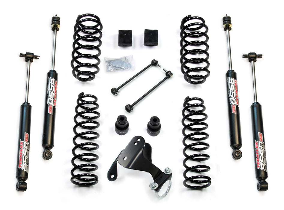 Jeep JK 2 Door 2.5 Inch Lift Kit w/ 9550 VSS Shocks 07-18 Wrangler JK TeraFlex