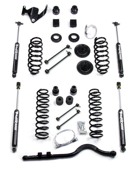 Jeep JK 2 Door 4 Inch Lift Kit W/9550 Shocks And Trackbar 07-18 Wrangler JK TeraFlex
