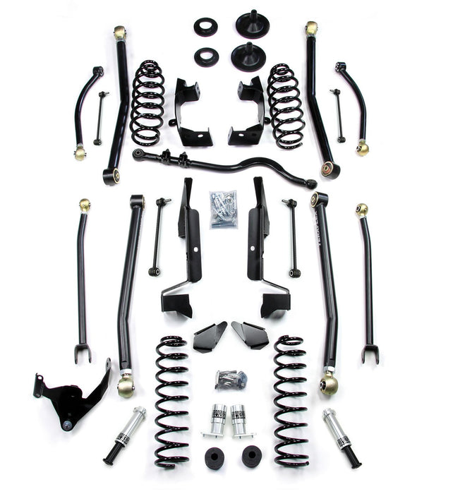 Jeep JK 4 Door 2.5 Elite LCG Long FlexArm Lift Kit W/SpeedBumps 07-18 Wrangler JK Unlimited TeraFlex