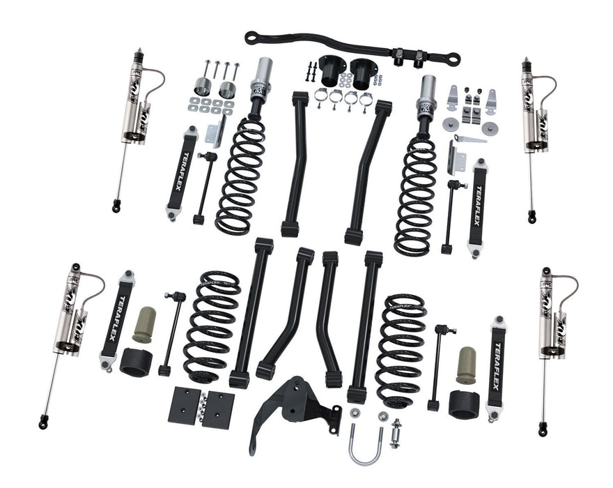 Jeep JK 2 Door 3 Inch Sport S/T3 Suspension System w/Fox Shocks 07-18 Wrangler JK TeraFlex