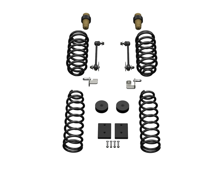 Jeep JKU 4 Door 1.5 Inch Sport ST1 Suspension System No Shocks 07-18 Wrangler JKU TeraFlex