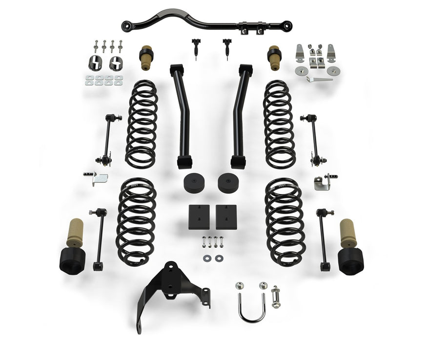 Jeep JKU 4 Door 2.5 Inch Sport ST2 Suspension System No Shocks 07-18 Wrangler JKU TeraFlex