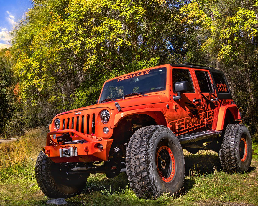 Jeep JKU 4 Door Alpine CT6 Suspension System 6 Inch Lift w/ Falcon 3.3 Shocks 07-18 Wrangler JKU TeraFlex