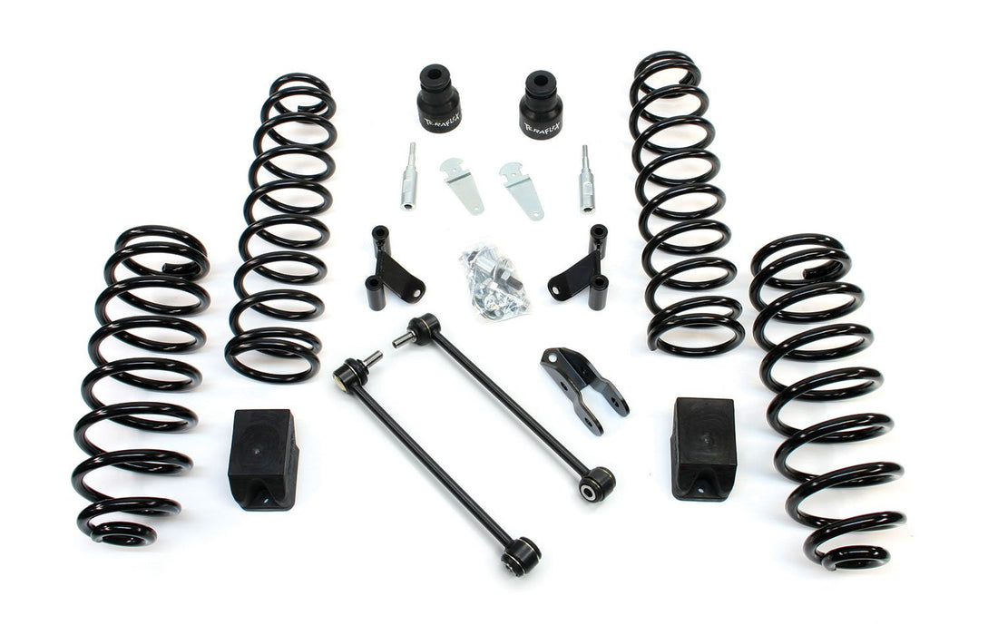 Jeep JKU 4 Door 2.5 Inch Lift Kit w/ Shock Extensions 07-18 Wrangler JKU TeraFlex