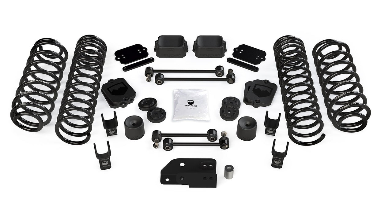JL 2-Door: 2.5 Inch Coil Spring Base Lift Kit and Shock Extensions For 18-Current Jeep JL Wrangler TeraFlex