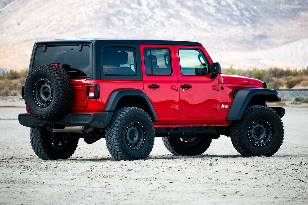 Jeep JLU 4 Door Rubicon 2.5 Inch Performance Spacer Lift Kit No Shocks Or Shock Extensions 18-Pres Wrangler JLU TeraFlex