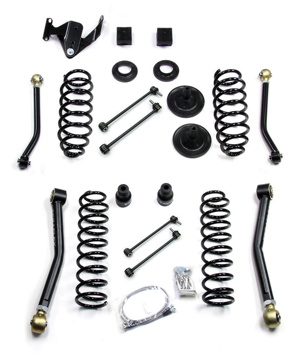 Jeep JK 2 Door 3 Inch Lift Kit W/4 FlexArms 07-18 Wrangler JK TeraFlex