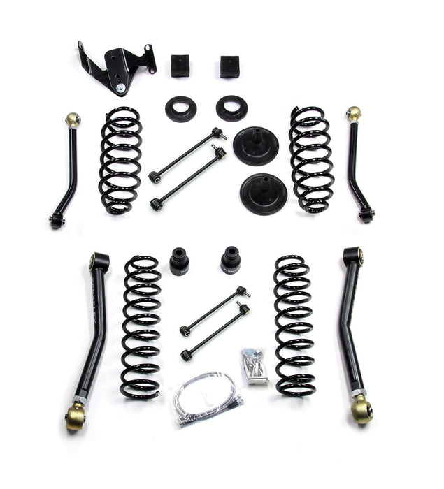 Jeep JK 4 Door 3 Inch Lift Kit W/4 FlexArms Right Hand Drive 07-18 Wrangler JK Unlimited TeraFlex