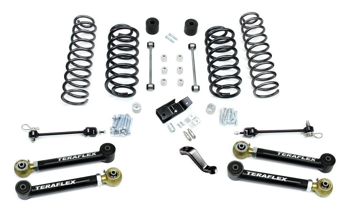 Jeep TJ/LJ 4 Inch Suspension System w/ 4 Flexarms No Shocks 97-06 Wrangler TJ/LJ TeraFlex