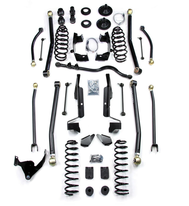 Jeep JK 2 Door 4 Elite LCG Long FlexArm Lift Kit 07-18 Wrangler JK TeraFlex