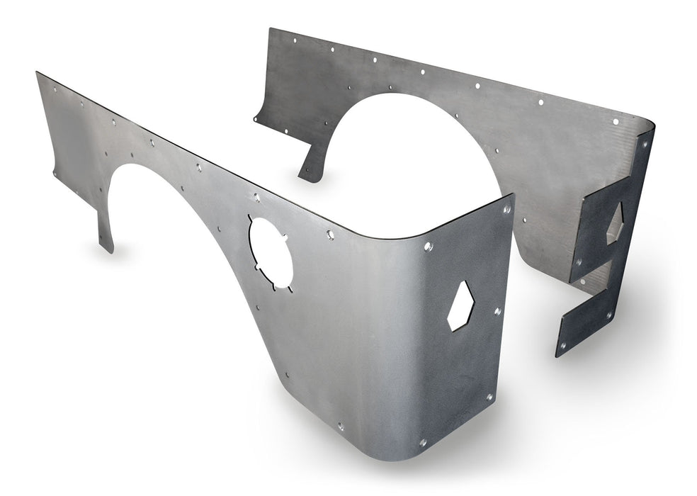 04-06 LJ Stock Crusher Corners Bare Steel 15-04-010 Poison Spyder