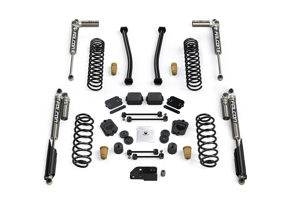 JLU 2.5 Inch Sport ST2 Suspension System with Falcon 3.1 Shocks For 19-Current Jeep JL Wrangler Unlimited 4 Door TeraFlex